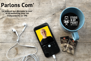 Parlons Com', le podcast communication et marketing